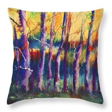 Wild Beasts On Da Bayou Throw Pillow
