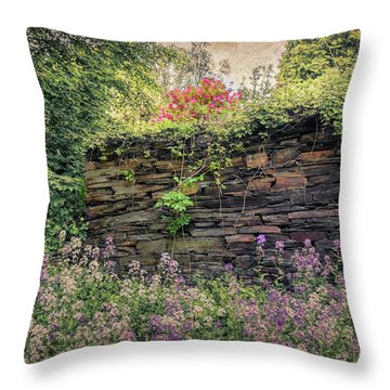 Wild Flocks Throw Pillow