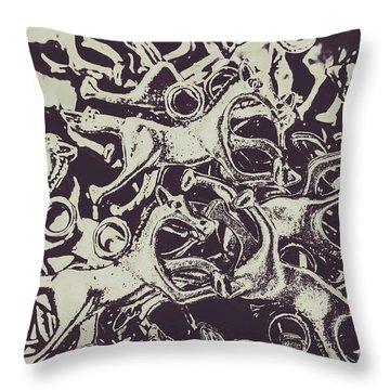 Wild Form Throw Pillow