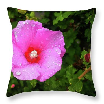 Wild Glory Throw Pillow