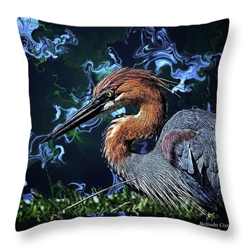 Wild Goliath Herona Throw Pillow