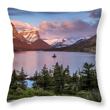 Wild Goose Island Morning 1 Throw Pillow