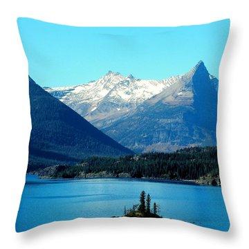 Wild Goose Island Throw Pillow