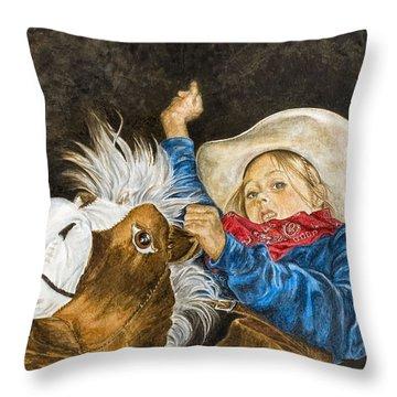 Wild Imagination Throw Pillow