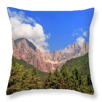 Throw Pillow featuring the photograph Wild Italy by Roy McPeak