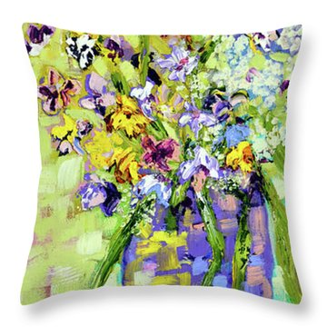 Wild Profusion Throw Pillow