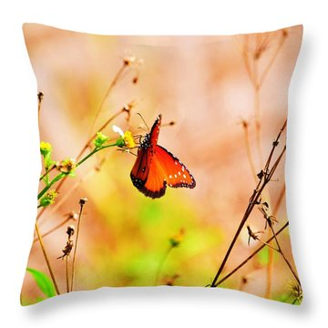 Flutterby Throw Pillows