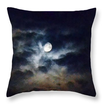 Wild Sky Throw Pillow