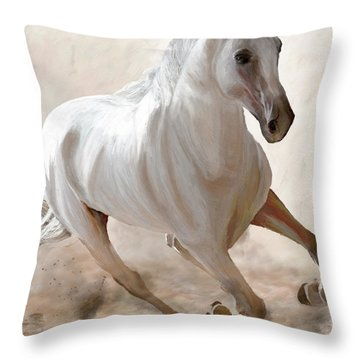 Wild Spirit Throw Pillow