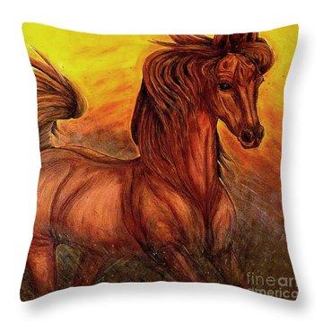 Wild Spirit Throw Pillow