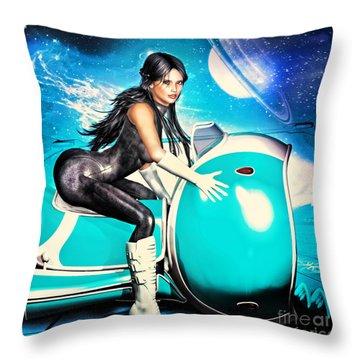 Wild Thing 3052 Throw Pillow