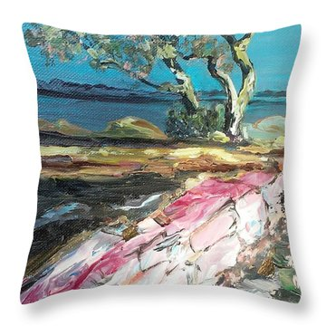 Wild Tree Throw Pillow