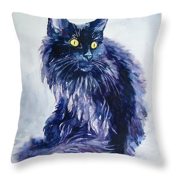 Wild Vagabond Throw Pillow