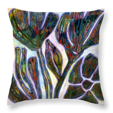 Wild Weed 3 Throw Pillow