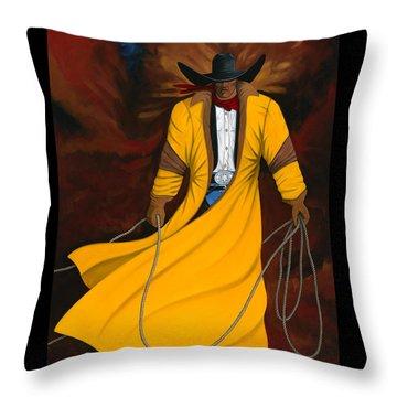 Wild West Days 2012 Throw Pillow by Lance Headlee