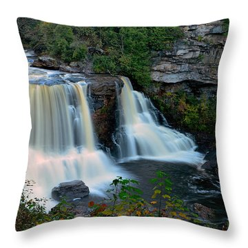 Wild West Virginia Throw Pillow