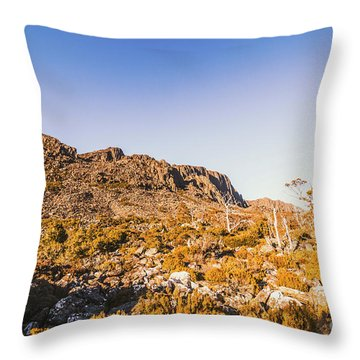 Wild Wilderness Of Stone Geology Throw Pillow