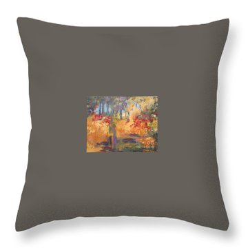 Wild Woods Throw Pillow