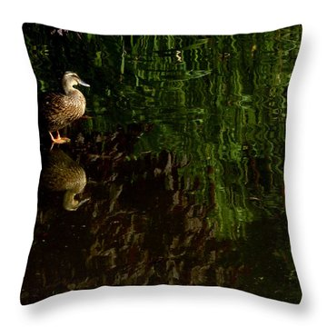 Wilderness Duck Throw Pillow
