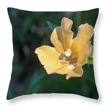 Wilderness Flower 2 Throw Pillow