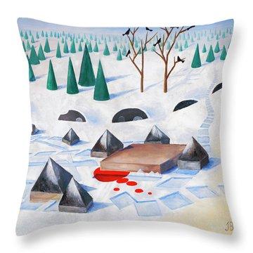 Wilderness Perception Throw Pillow