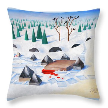 Wilderness Perception Throw Pillow