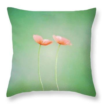 Wildflower Duet Throw Pillow