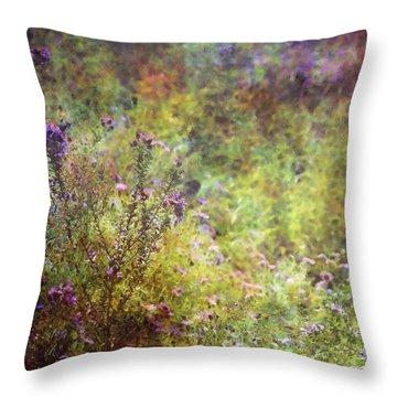 Wildflower Garden Impression 4464 Idp_2 Throw Pillow