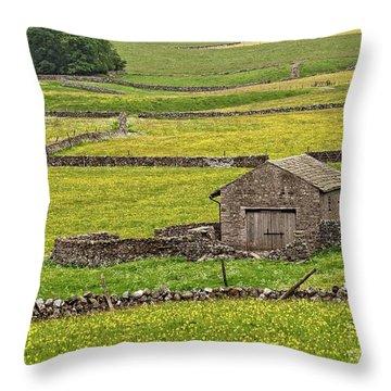 Wildflower Meadows Throw Pillow