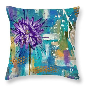 Wildflower No. 1 Throw Pillow