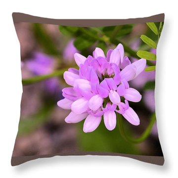 Wildflower Or Weed Throw Pillow