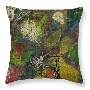 Wildflower Two Throw Pillow