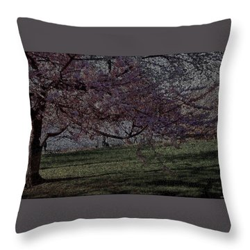 Wildflowers Party Throw Pillow