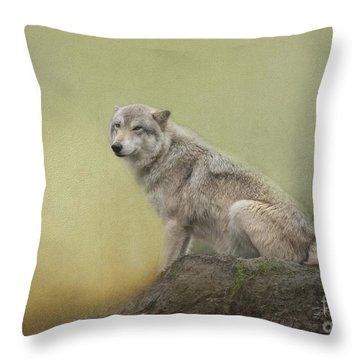Wildlife Alaska Throw Pillow
