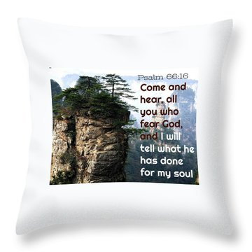 Will Do All For All Throw Pillow