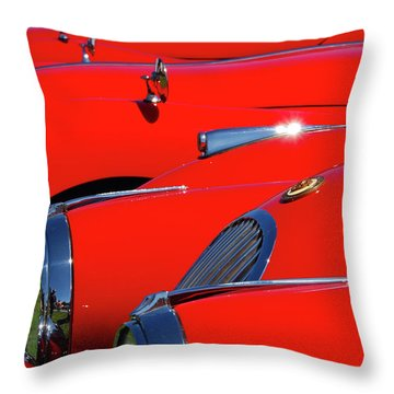 Throw Pillow featuring the photograph Will The Owner Of The Red Car by John Schneider