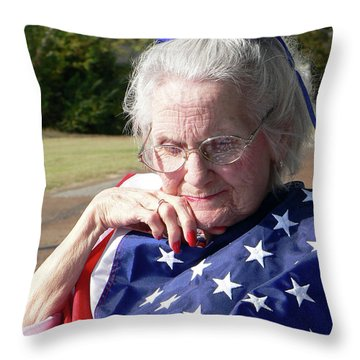 Will You Remember Me Alzheimers Throw Pillow
