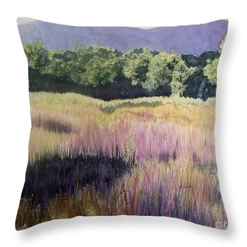Willamette Meadow Throw Pillow