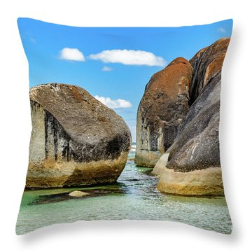 William Bay 2 Throw Pillow