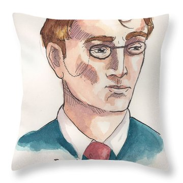 William Butler Yeats Throw Pillow
