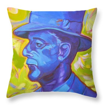 William Faulkner Throw Pillow