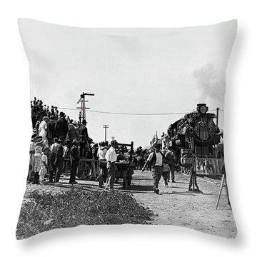William Hart Film Throw Pillow