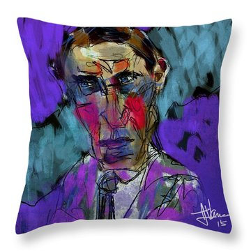 William Munroe Throw Pillow by Jim Vance