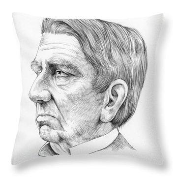 William Seward Throw Pillow