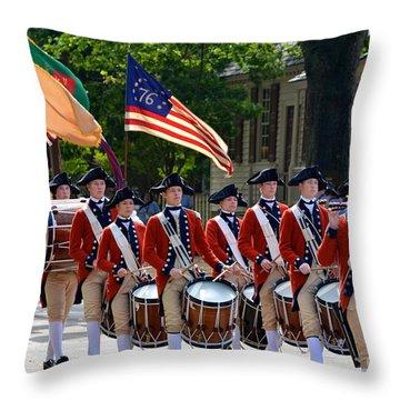 Williamsburg Throw Pillow
