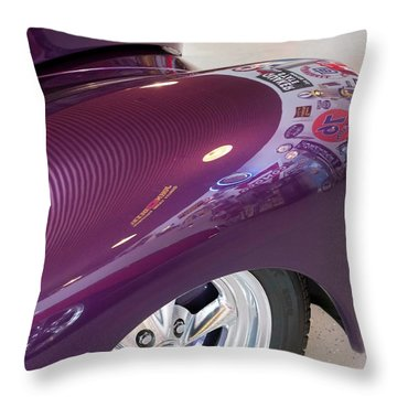 Willy's Fender Throw Pillow