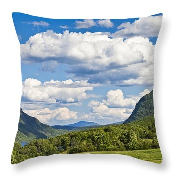 Willoughby Gap Cloudscape Throw Pillow