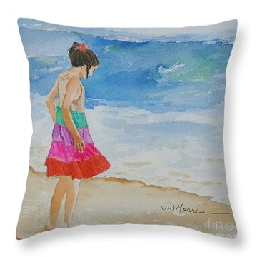 Willow At Rosemary Beach Throw Pillow
