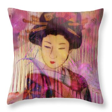Willow World Throw Pillow