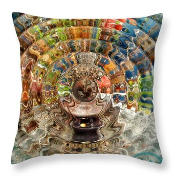 Throw Pillow featuring the photograph Zenergy  by Cindy Greenstein